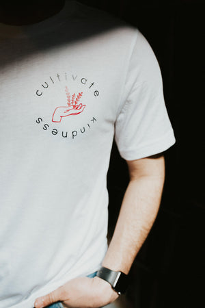 Load image into Gallery viewer, cultivate kindness unisex tee
