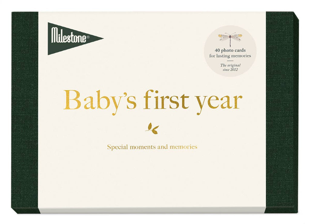 Baby Milestone Cards-ABC