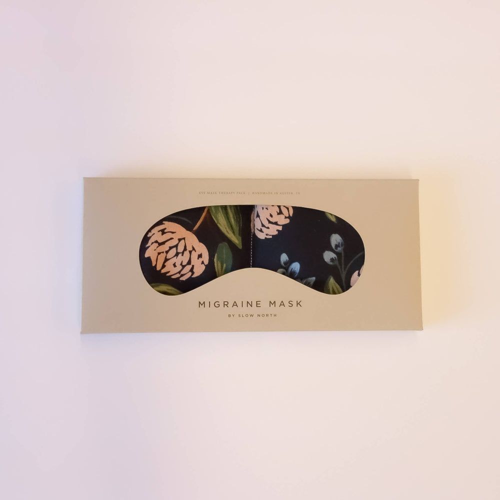 Slow North - Eye Mask Therapy Pack - Blue Peonies