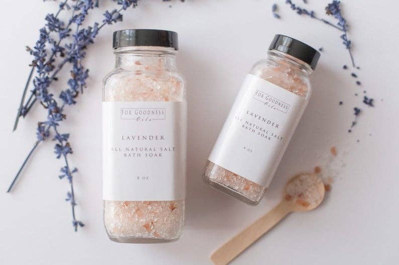 For Goodness Oils - Bath Salt Soak