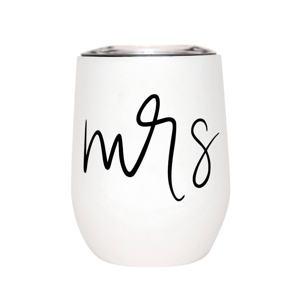Sweet Water Decor - Mrs. Metal Wine Tumbler