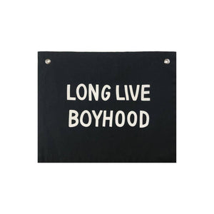 Load image into Gallery viewer, Long Live Boyhood Banner - Imani Collective
