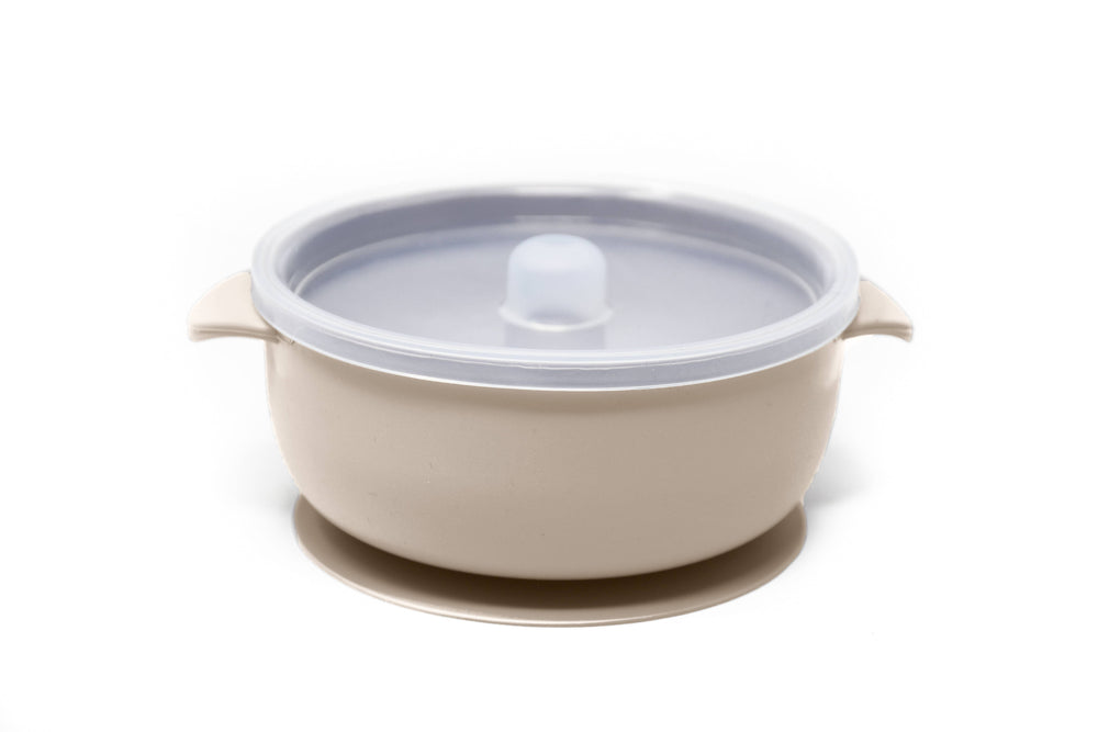 The Dearest Grey - BABY BOWLS | SUCTION BOWL | IVORY