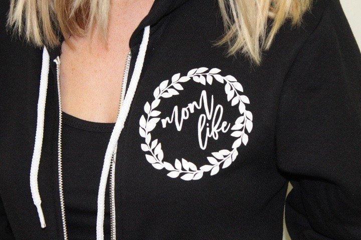 Mom life zip up hoodie sweater, new mom christmas gift