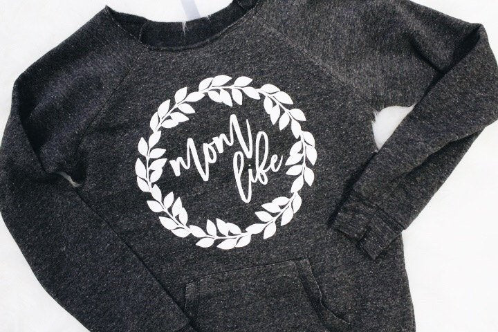 Mom life sweater.mom gear. mom clothing. mothers day gift. mom attire. mom sweatshirt.