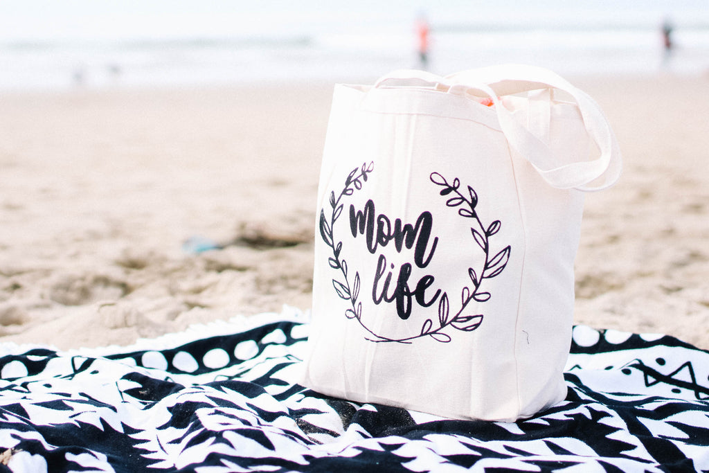 mom life tote bag, mothers day gift