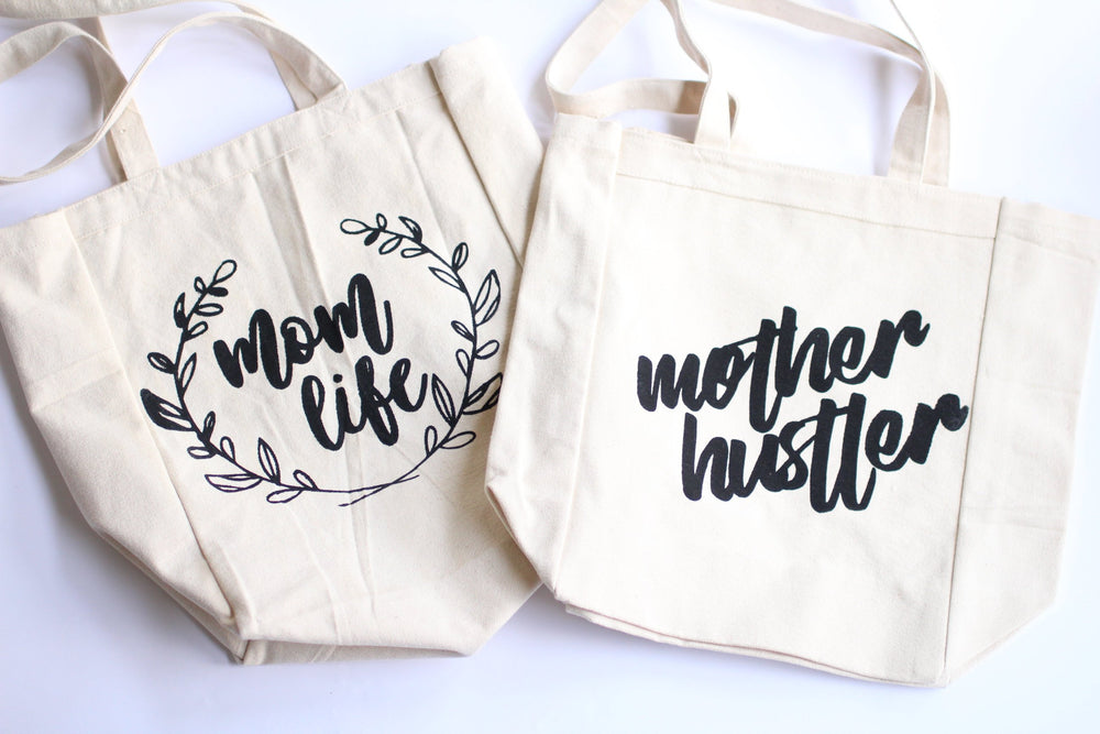Load image into Gallery viewer, Mother hustler tote bag, mothers day gift