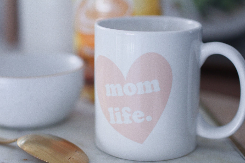 mothers day gift, mom life coffee mug