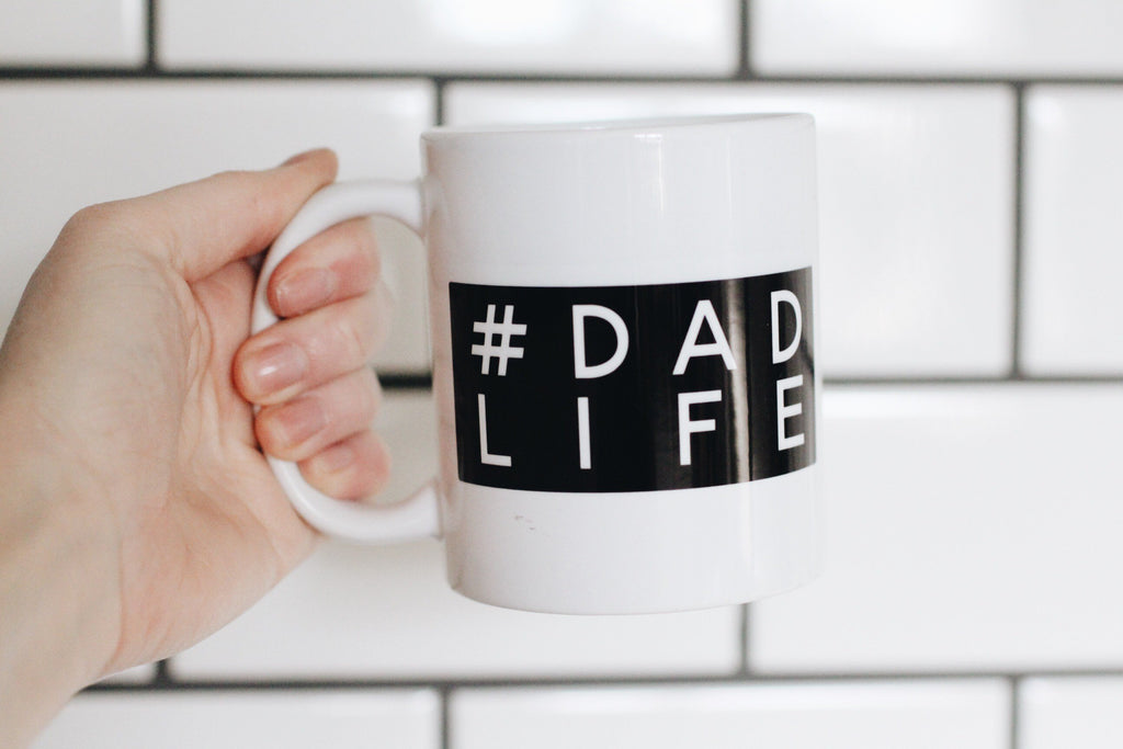 fathers day gift, dad life coffee mug