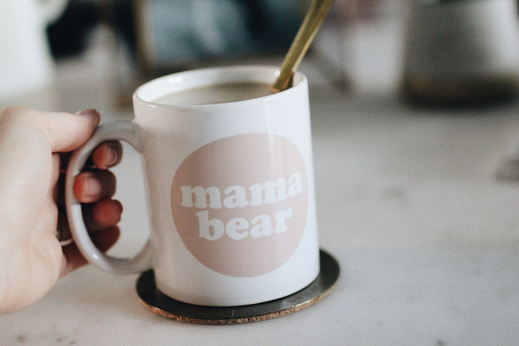 mothers day gift, mama bear mug