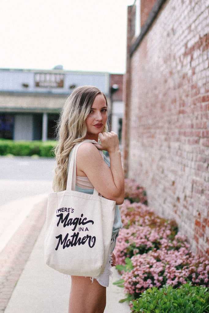 Mom tote bag, mothers day gift