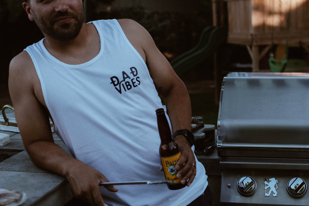 dad vibes men's tank, dad tank