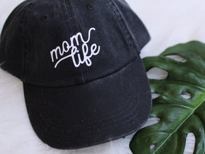 Load image into Gallery viewer, Mom life hat. Mom life apparel Mom gift. Holiday gift for her. Mom life apparel. Mom hat. New mom gift