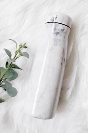 Load image into Gallery viewer, mom boss marble water tumbler