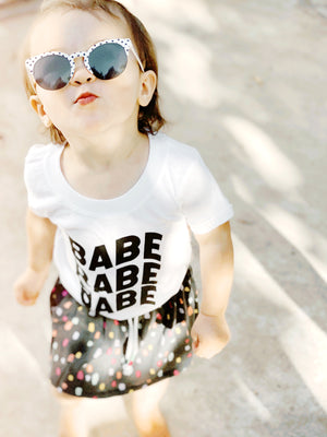 Load image into Gallery viewer, Groovy babe tee
