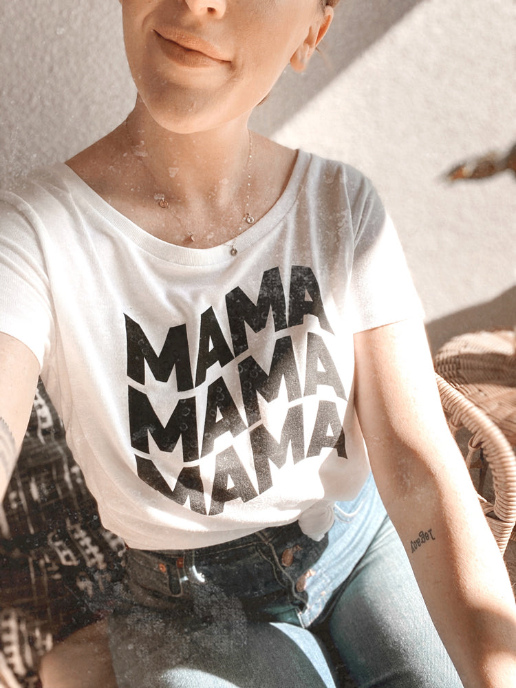 Load image into Gallery viewer, Groovy mama tee