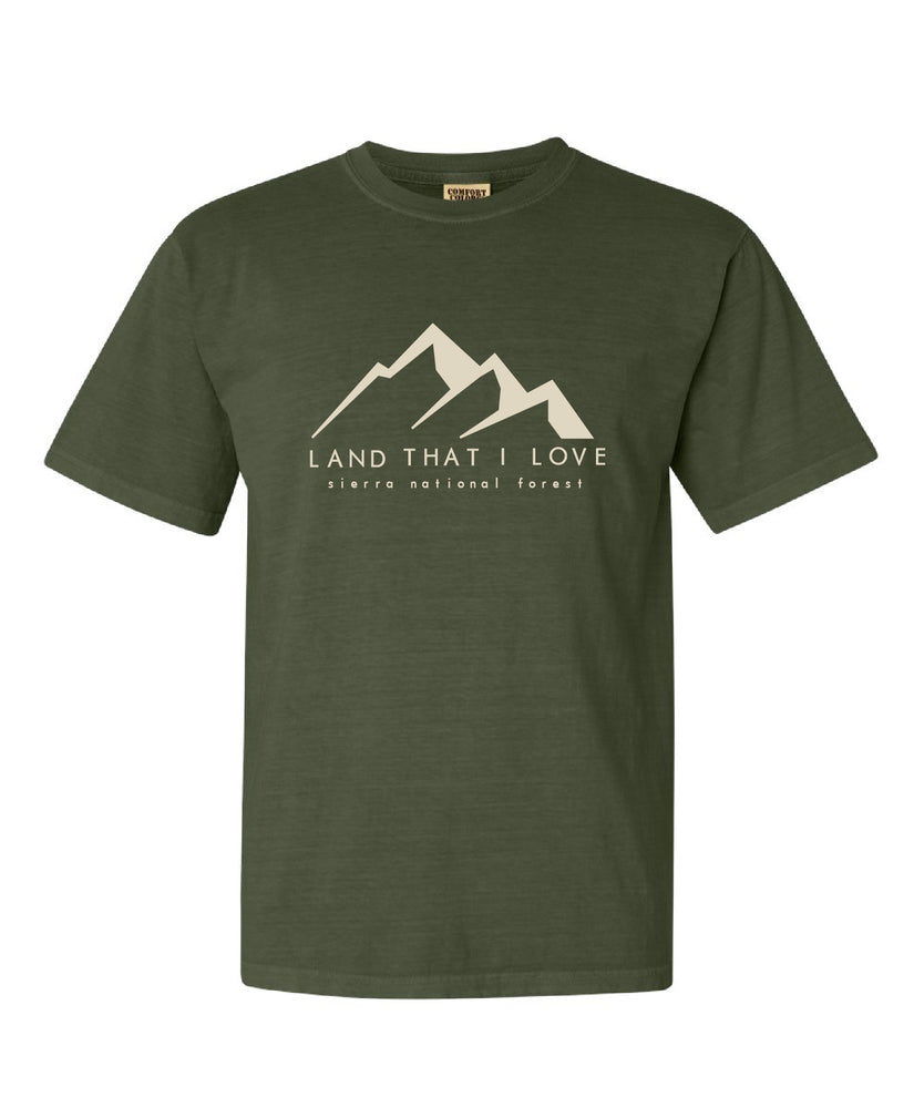 Land that I love Creek Fire mountain tee