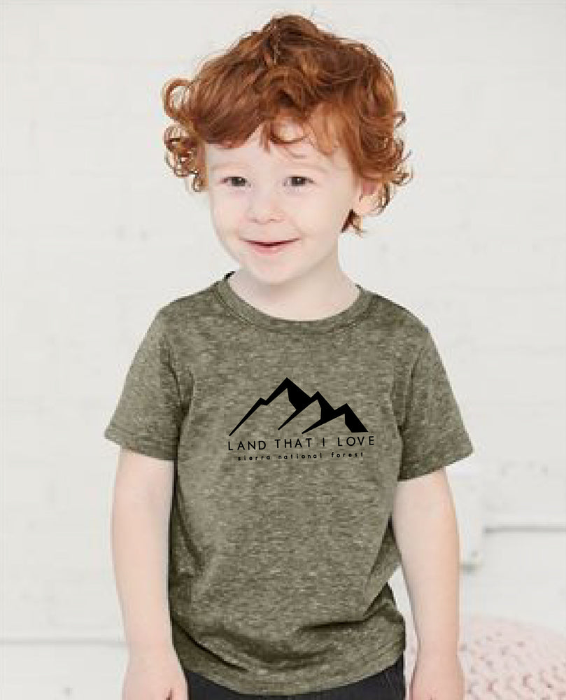 Load image into Gallery viewer, Kids Land that I love Creek fire mountain tee