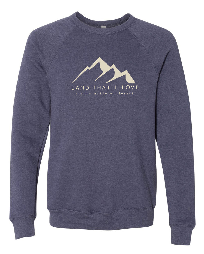 Land that I love mountain sweater