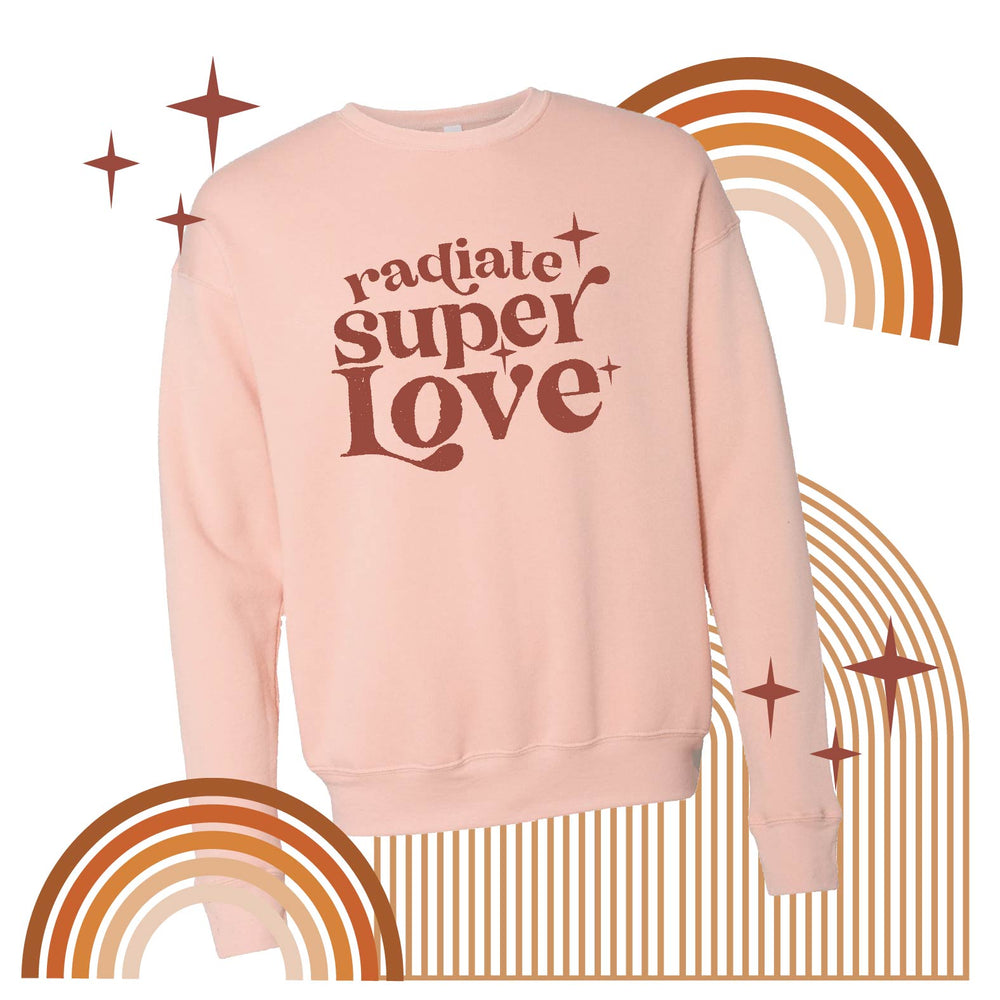 Load image into Gallery viewer, Radiate super love pullover