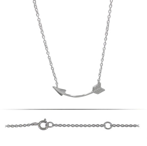 Sideways Arrow Necklace