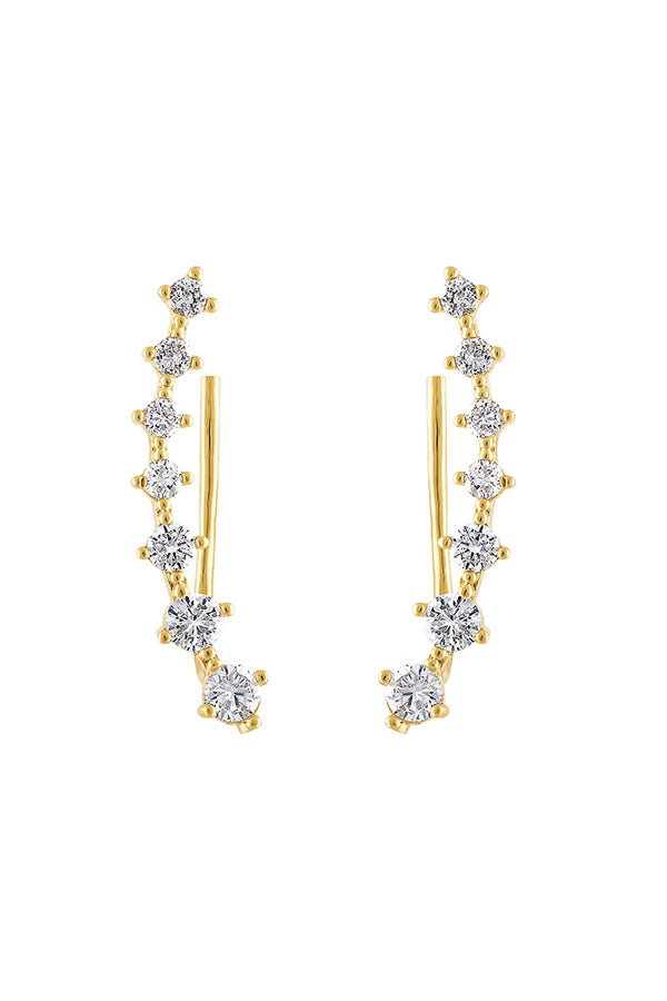 Crystal Climber Earring - BIDA Boutique