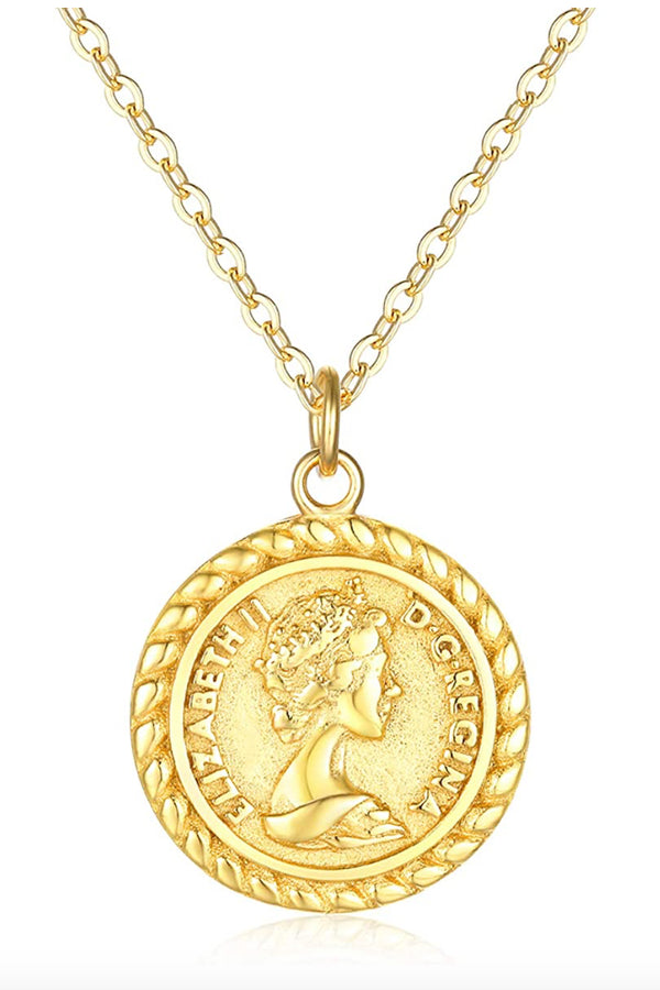 Vintage Coin Medallion Necklace - BIDA Boutique