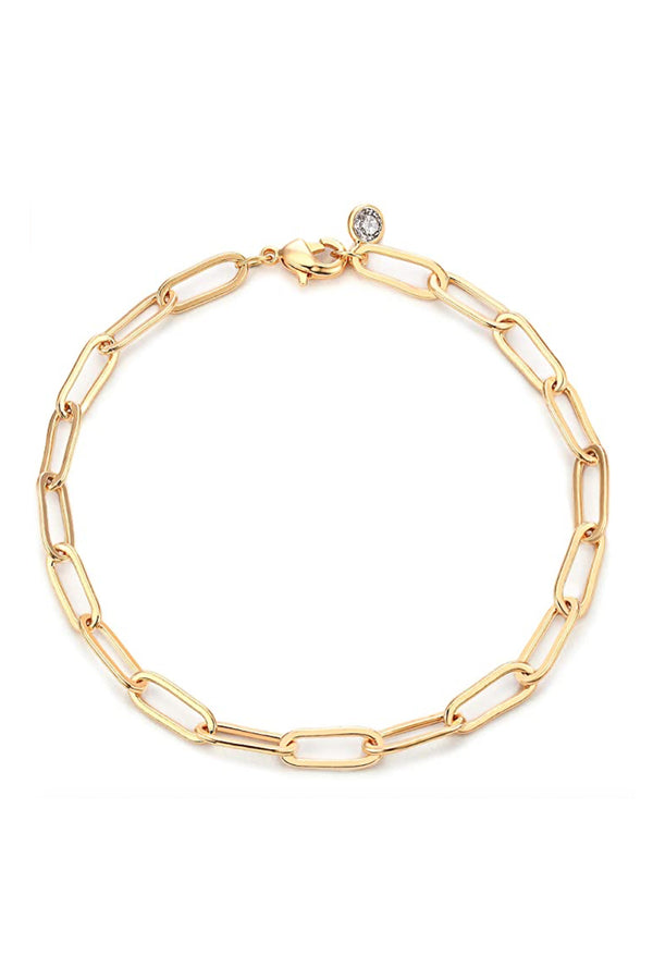 Crystal Chain Bracelet - BIDA Boutique