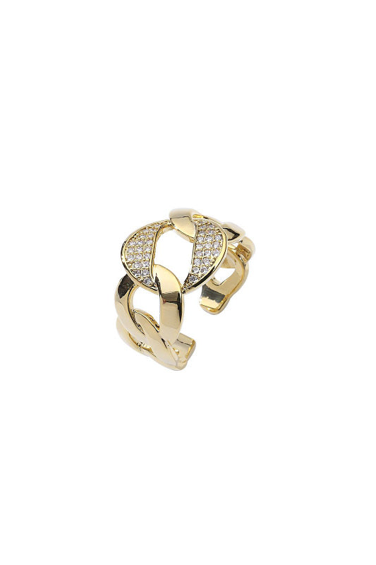 Chunky Chain Ring - BIDA Boutique