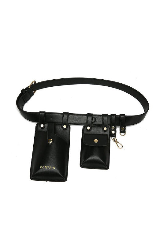 """Contain"" Belt Bag - BIDA Boutique"