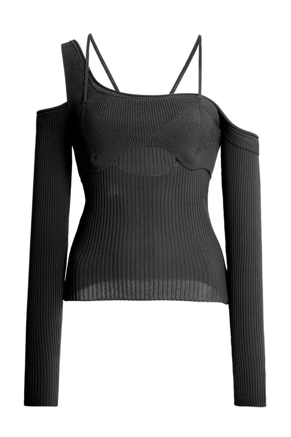 Iri Ribbed Sweater - BIDA Boutique