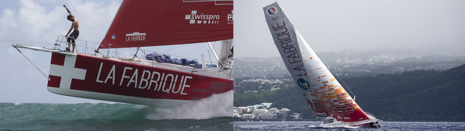 La Fabrique sailing team, Alan Roura