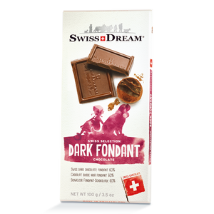 Fondant Dark Chocolate Bar SwissDream