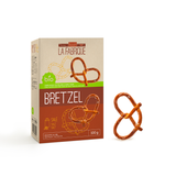 Organic Hard Pretzel - no palm oil, no GMOs, vegetarian