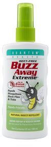 Buzz Away Extreme Natural Insect Repellent - 4oz Pump Spray
