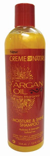 Creme of Nature Moisture & Shine Shampoo with Argan Oil - 12 oz