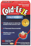 Cold-Eeze Cold Remedy Lozenges Strawberries & Cream - 18 ea