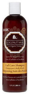 Hask Coconut Milk & Organic Honey Curl Care Shampoo 12oz