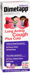 Dimetapp Children's Long Acting Cough Plus Cold Fruit Punch 4 oz