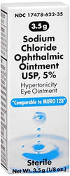 Akorn Sodium Chloride 5% Ophthalmic Ointment - 0.125 oz