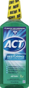 Act  Restoring Anticavity Fluoride Mouthwash Mint Burst 18 oz