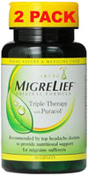 MigreLief Caplets 60ct (2 Pack)