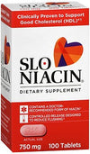 Slo-Niacin 750 mg Dietary Supplement 100ct