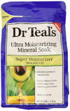 Dr Teal's Ultra Moisturizing Mineral Soak Super Moisturizer with Avocado Oil 48 oz