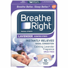 Breathe Right Scented Nasal Strips Lavender 10 ea