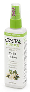 Crystal 522475 2.5 oz Solid Stick Vanilla Jasmine Body Spray - 6 per Case