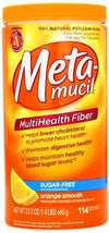 Metamucil Smooth Texture Sugar Free Orange 114 Doses 23.3oz