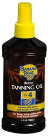 Banana Boat Dark Tanning Oil Spray SPF 4 - 8 oz