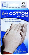 Cara Cotton Gloves XLarge (9 1/2 to 10 1/2) - 1 pair