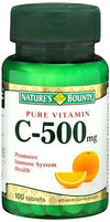 Nature's Bounty C- 500 - 100 Tablets